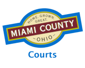 Miami County Logo for Courts